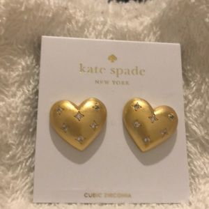Kate Spade My Precious Heart Earrings NWT